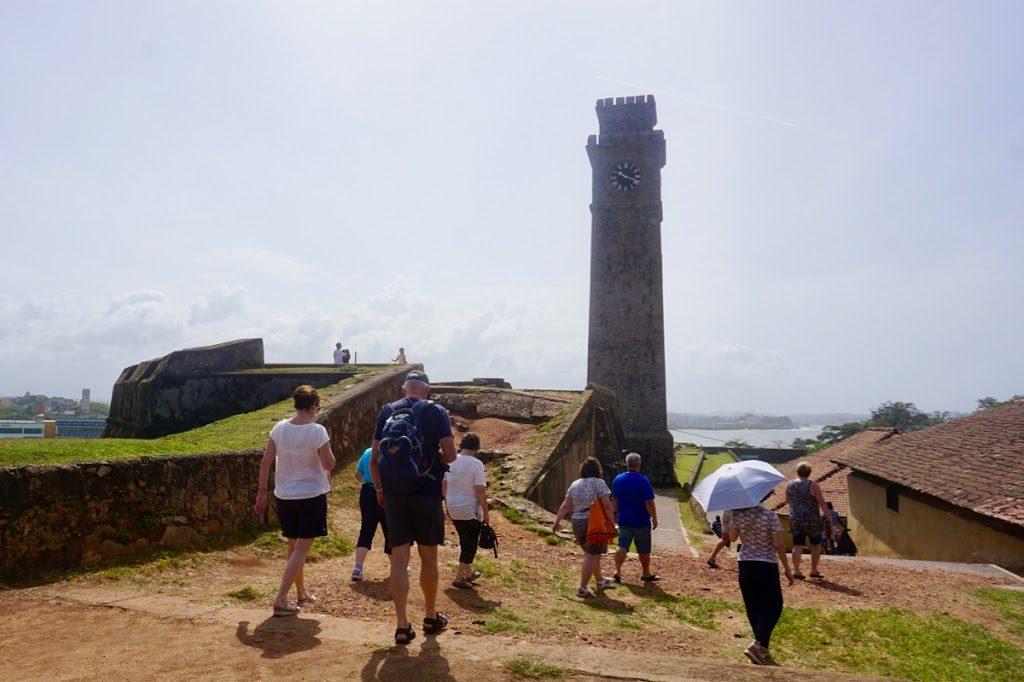 Gamlebyen Galle Fort på Sri Lanka