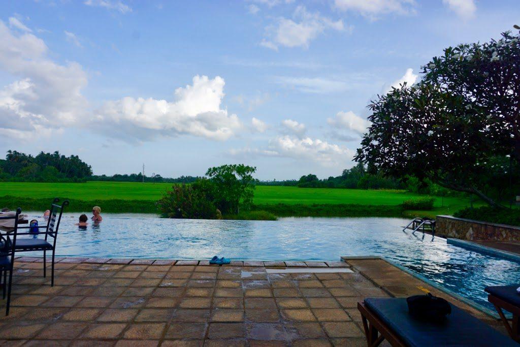 Overnatting på Kithala Resort under rundreisen på Sri Lanka.