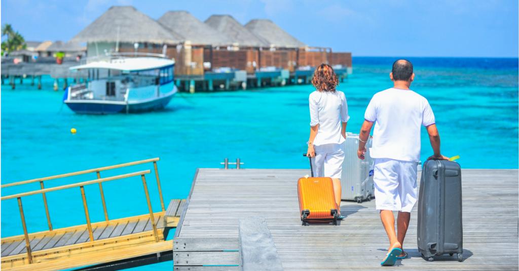 Maldivene Backpacking eller luksus