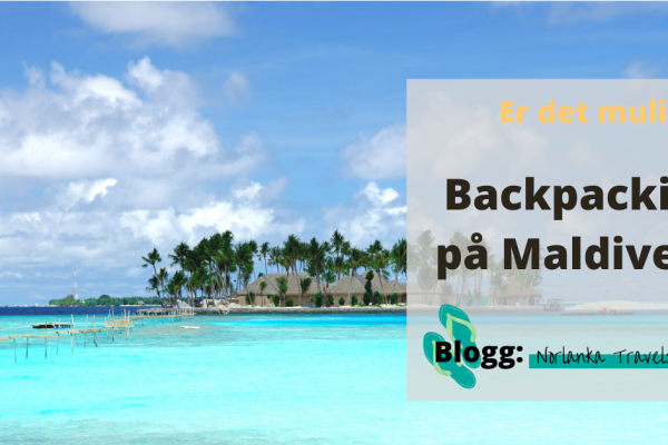 backpacking maldivene
