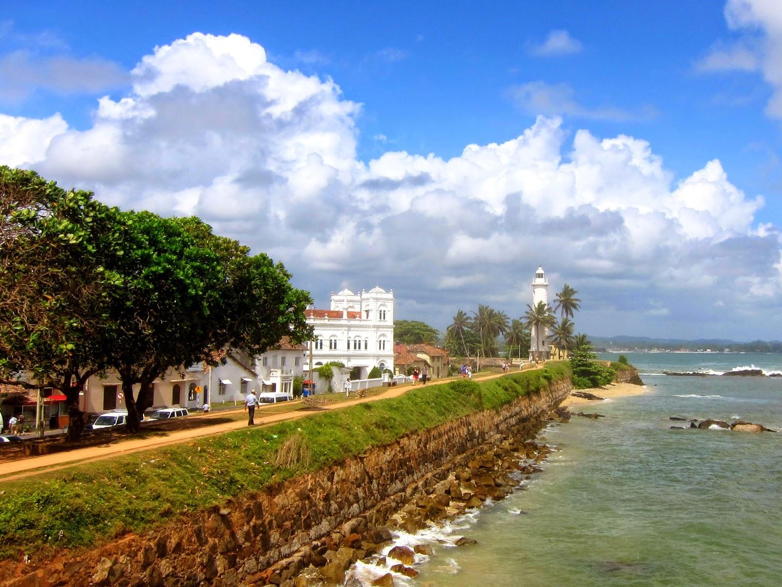 Galle Fort Sri Lanka. Noen høydepunkt fra en rundreise på Sri Lanka