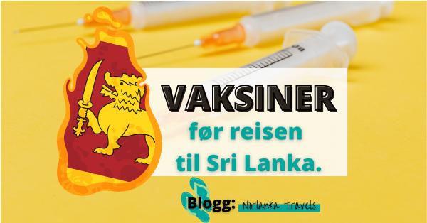vaksiner Sri Lanka
