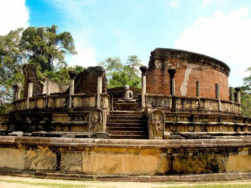 Polonnaruwa Sri Lanka severdighet