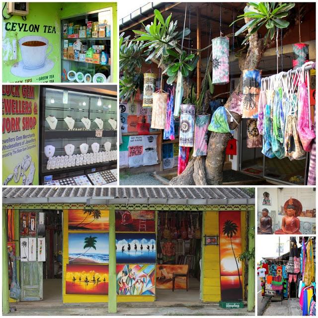 Shopping i Hikkaduwa