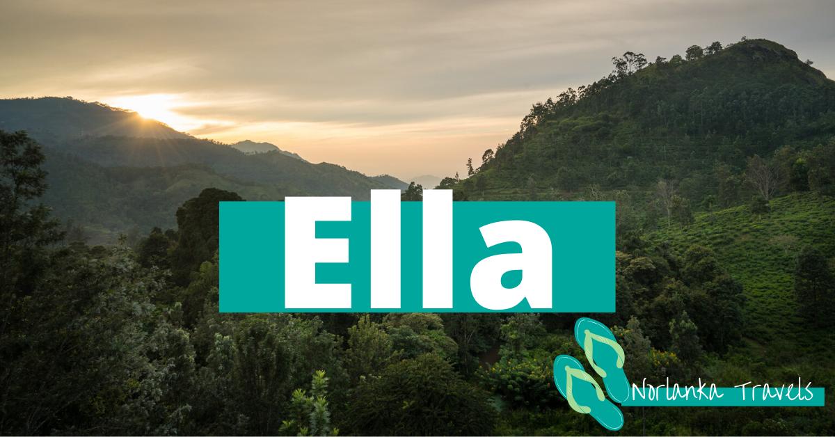 Ella din base for å oppleve høylandet på Sri Lanka