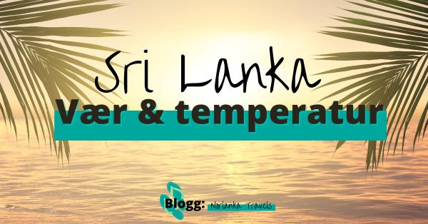 Sri Lanka vær