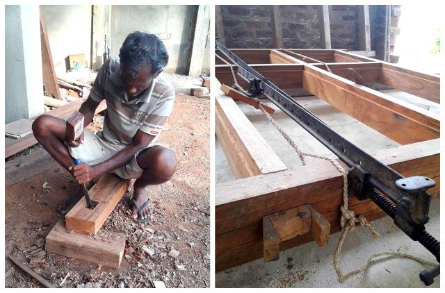 tid å bygge hotell på Sri Lanka
