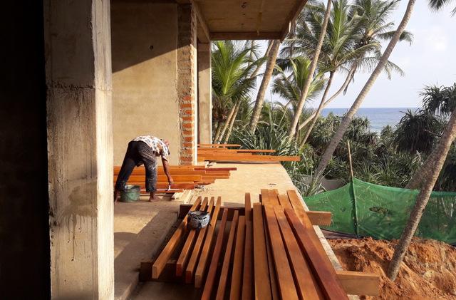 Bygge hotell Sri Lanka
