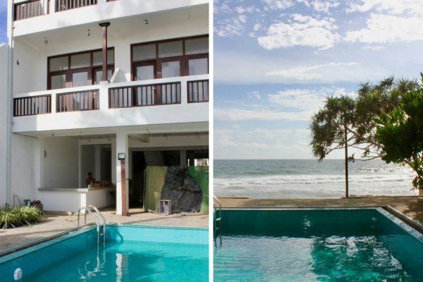 Bygge hotell Sri Lanka svømmebasseng