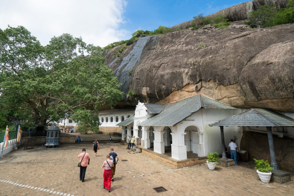 Grottetempelet i Dambulla