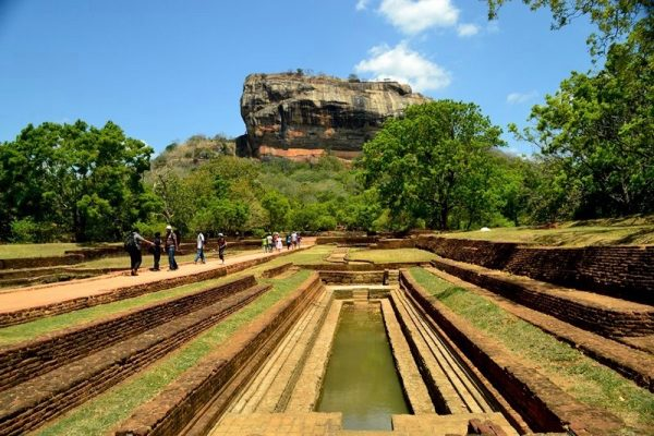 Sigiriya:  Lion Rock and Fortress