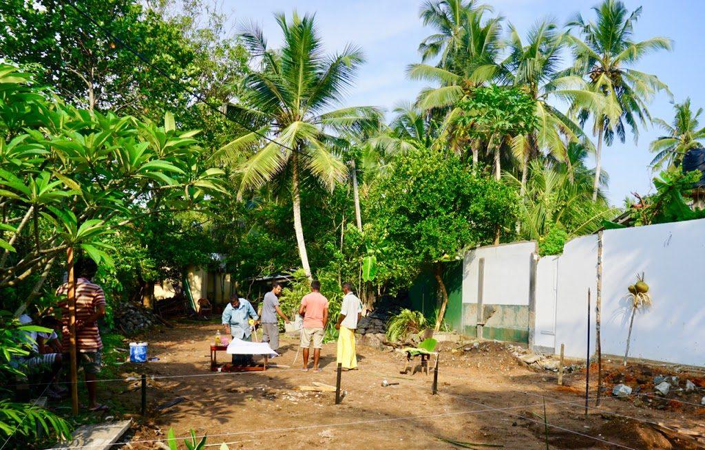 Bygge hus flytte til Sri Lanka