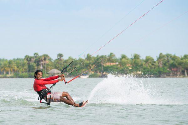 Kitesurfing i Kalpitiya