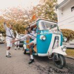 kjøre tuktuk i Colombo Sri Lanka