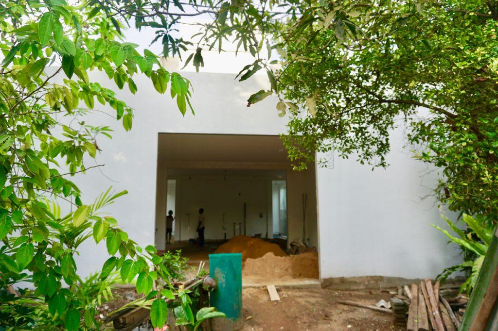 Vi bygger tropisk hus på Sri Lanka