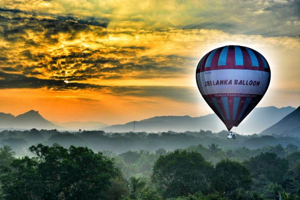 Hot Air Balloon – Dambulla area