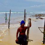 styltefiskere på Sri Lanka