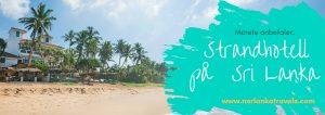 De beste strandhotellene på Sri Lanka