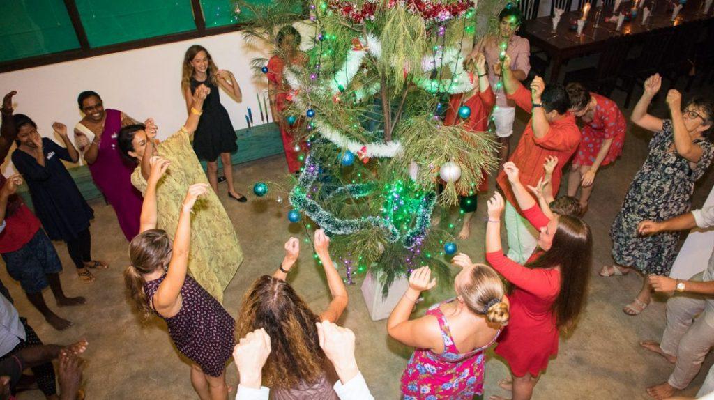feire jul på Sri Lanka