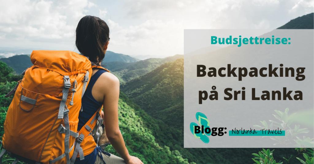 Backpacking reise på budsjett Sri Lanka