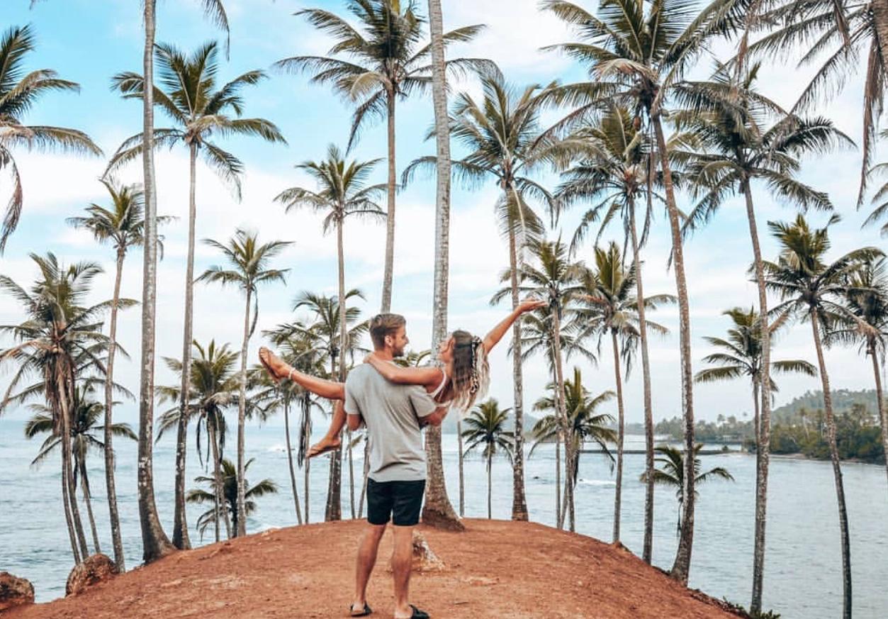Instavennlige Sri Lanka Coconut Hill Mirissa