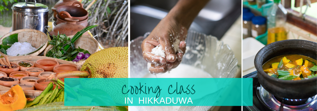 Cooking class in Hikkaduwa rice and curry