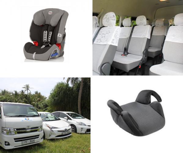 Baby seats bilstol Norlanka Travels