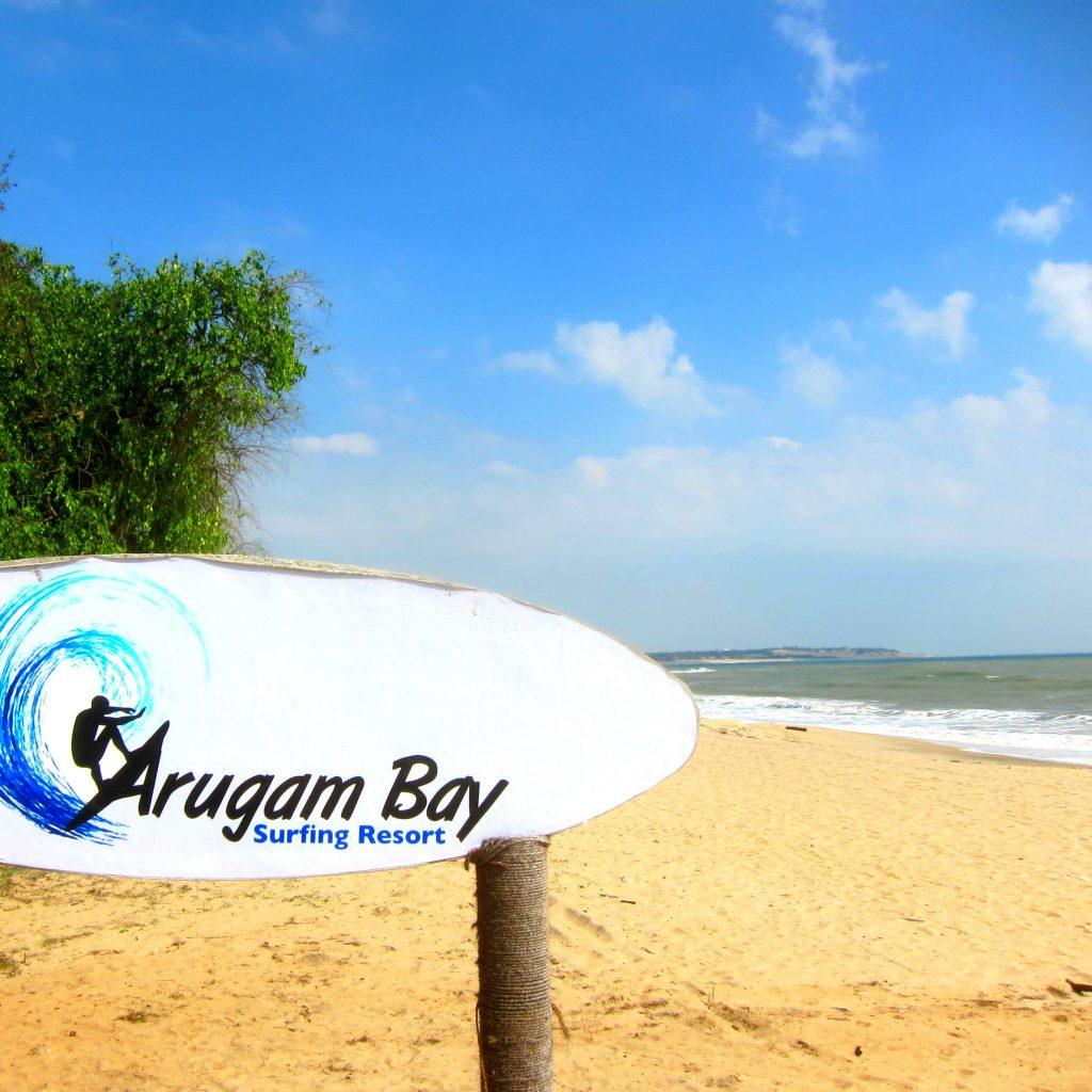 Arugam bay Surfing strand Sri Lanka