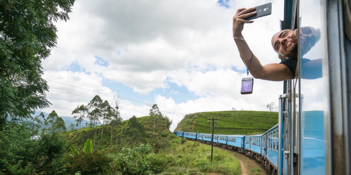 Reise til Sri Lanka tog