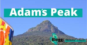 Adams Peak et hellig fjell på Sri Lanka
