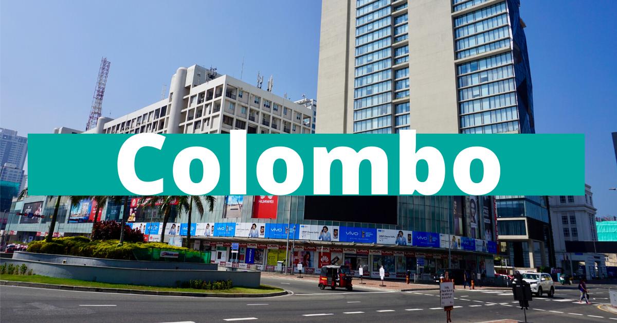 Shopping og fine hoteller i Colombo Sri Lanka