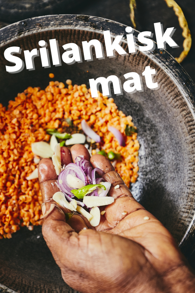srilankisk mat curry
