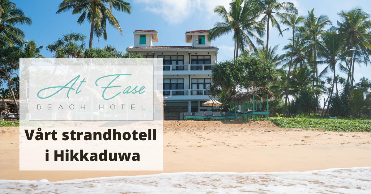 strandhotell i Hikkaduwa