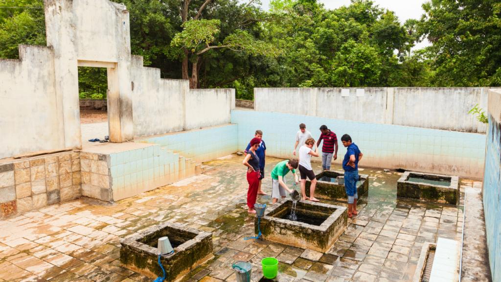 Kanniya Hot Springs Trincomalee Sri Lanka