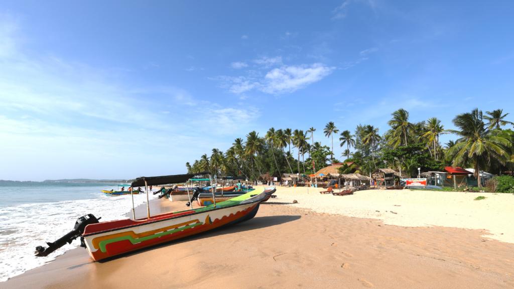 Uppuveli strand Trincomalee Sri Lanka
