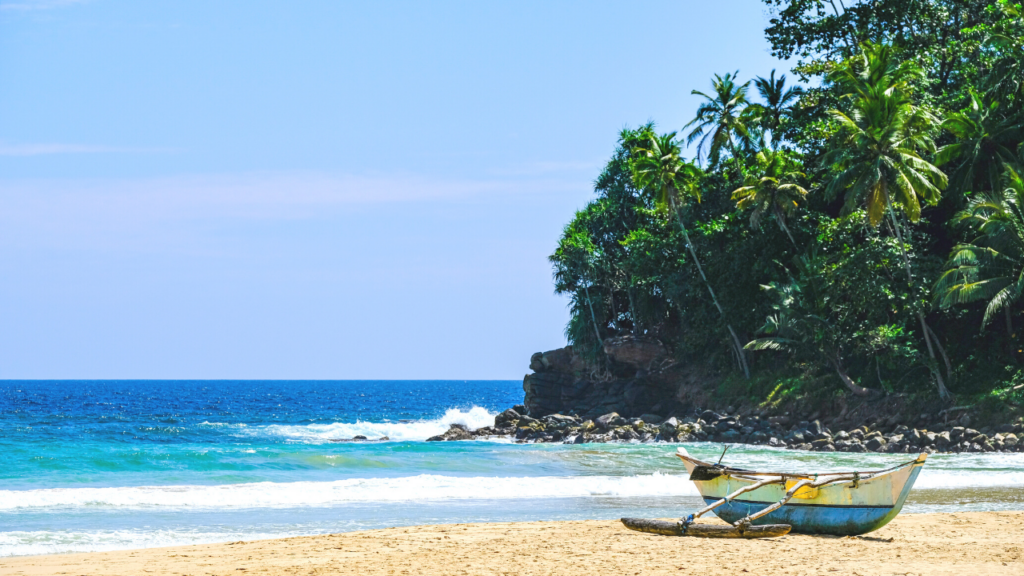 Beste stranda Sri Lanka Talalla