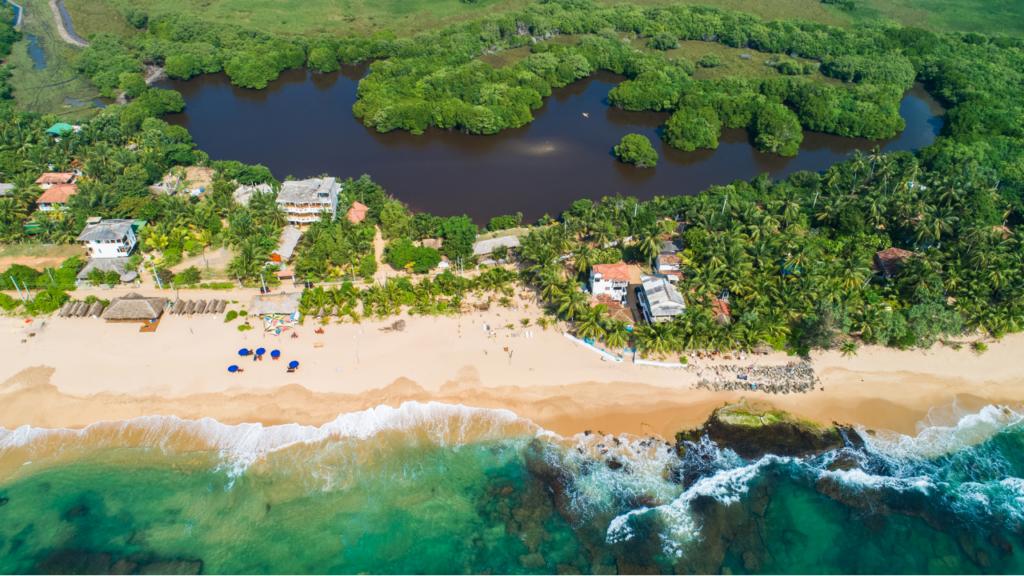 Beste stranda Sri Lanka Tangalle