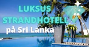 Luksus strandhotell på Sri Lanka